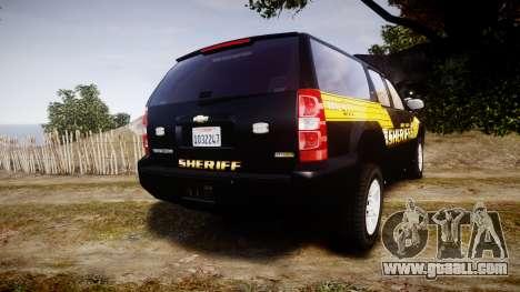 Chevrolet Suburban [ELS] Rims1 for GTA 4 back left view