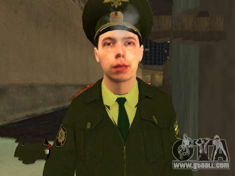 Lieutenant Sokolov for GTA San Andreas third screenshot