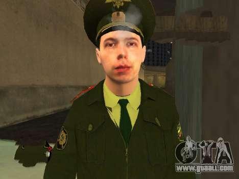 Lieutenant Sokolov for GTA San Andreas third screenshot