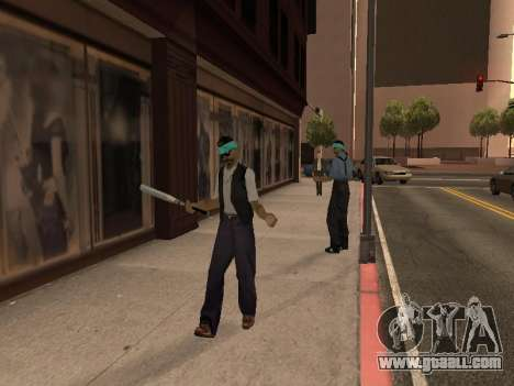 Changing areas of gangs and their weapons for GTA San Andreas third screenshot