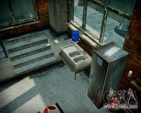 Garage with new interior Alkaline for GTA 4 twelth screenshot