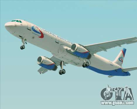 Airbus A321-200 Ural Airlines for GTA San Andreas wheels