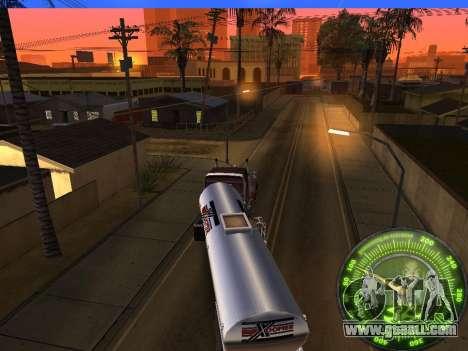 Speedometer HITMAN for GTA San Andreas sixth screenshot