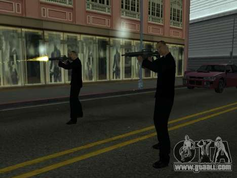 Changing areas of gangs and their weapons for GTA San Andreas