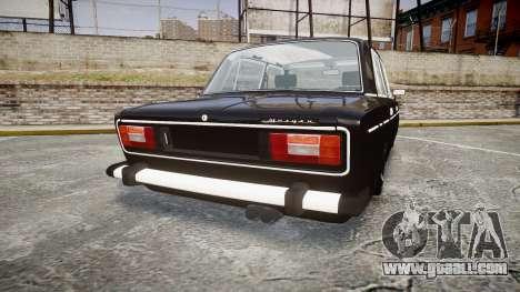 VAZ-2106 Vossen for GTA 4 back left view