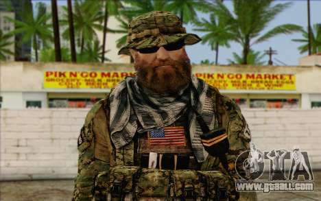 Dusty MOHW from Medal Of Honor Warfighter for GTA San Andreas third screenshot