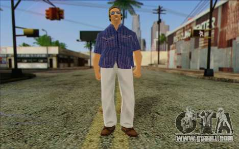 Vercetti Gang from GTA Vice City Skin 1 for GTA San Andreas