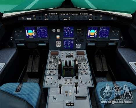 Airbus A321-200 Air Canada for GTA San Andreas interior