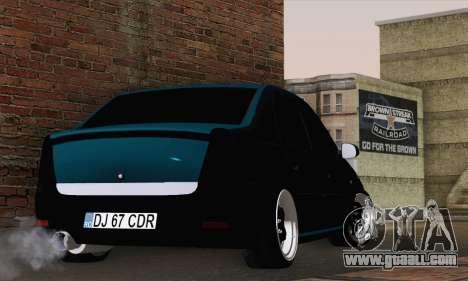 Dacia Logan 1.6 DJ for GTA San Andreas left view