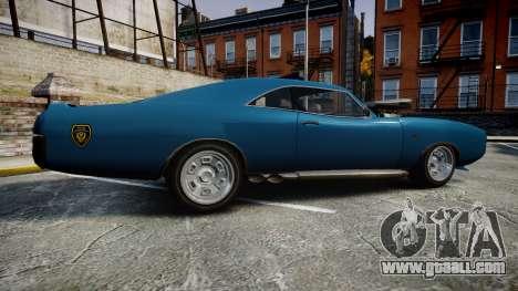 Imponte Dukes Police for GTA 4 left view