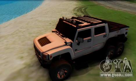 Hummer H6 Sut Pickup for GTA San Andreas side view
