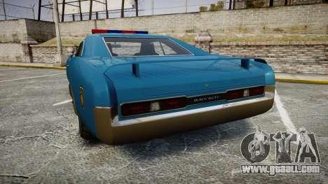Imponte Dukes Police for GTA 4 back left view