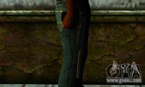 Beretta M9 Silenced for GTA San Andreas third screenshot