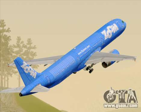 Airbus A321-200 Zoom Airlines for GTA San Andreas
