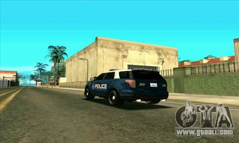 FCPD Ford Explorer 2013 for GTA San Andreas left view
