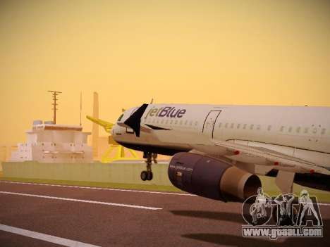 Airbus A321-232 Big Blue Bus for GTA San Andreas
