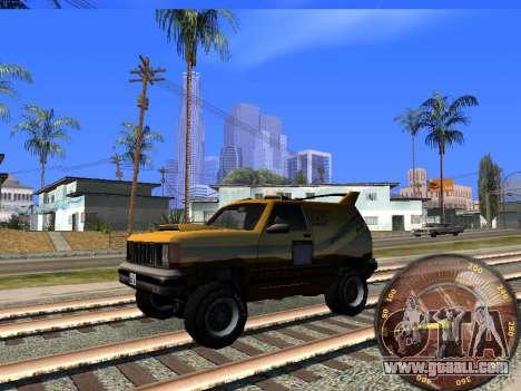 Speedometer HITMAN for GTA San Andreas third screenshot