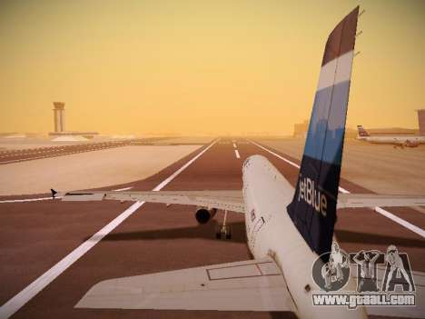 Airbus A321-232 Big Blue Bus for GTA San Andreas