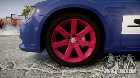 Chrysler 300 SRT8 2012 PJ SRT8 for GTA 4 back view