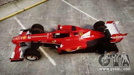 Ferrari F138 v2.0 [RIV] Alonso THD for GTA 4 right view