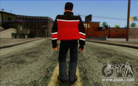 Hood from GTA Vice City Skin 2 for GTA San Andreas second screenshot