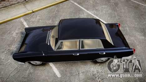 FSO Warszawa Ghia 1959 for GTA 4 right view