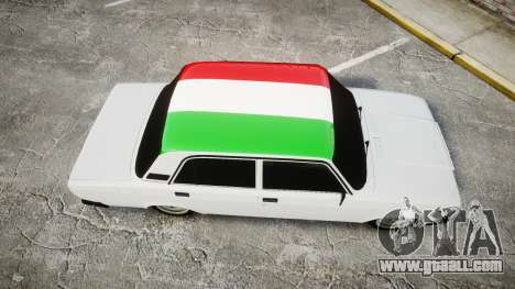 VAZ-2107 Italy for GTA 4 right view
