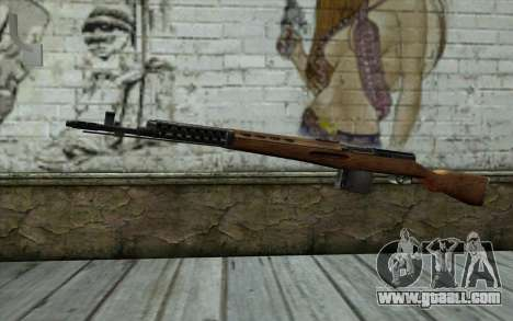 SVT-40 for GTA San Andreas