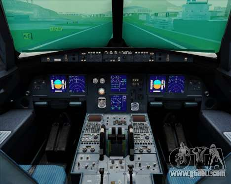 Airbus A321-200 Hansung Airlines for GTA San Andreas interior