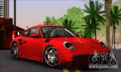 Porsche 997 Turbo Tunable for GTA San Andreas right view