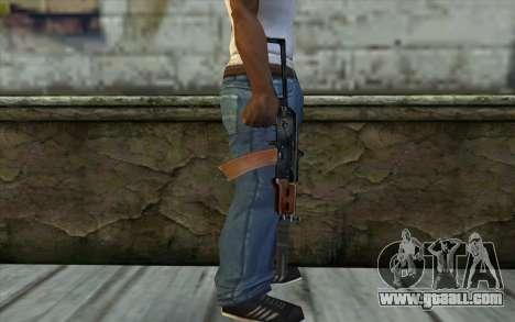 AKS-74U with PBS-5 for GTA San Andreas third screenshot