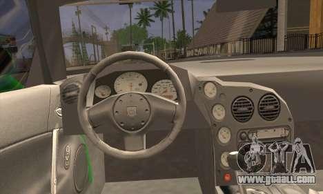 Dodge Viper SRT 10 for GTA San Andreas back left view
