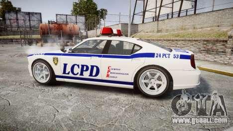 Bravado Buffalo Police for GTA 4 left view