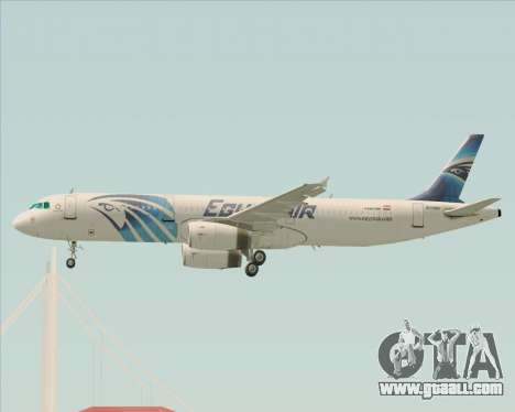 Airbus A321-200 EgyptAir for GTA San Andreas engine