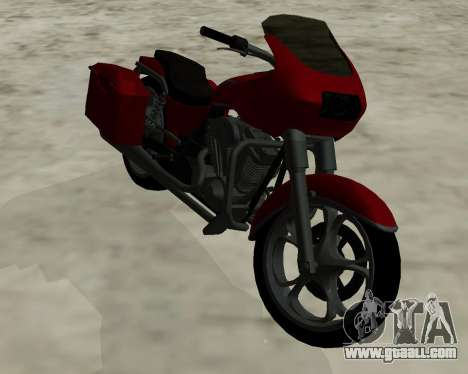 Bagger for GTA San Andreas