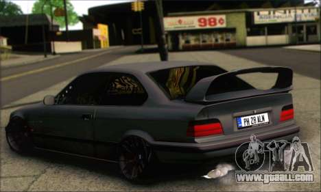 BMW E36 Stanced for GTA San Andreas left view