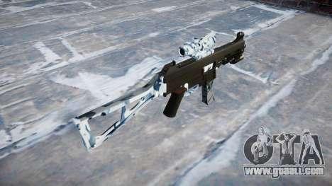 Gun UMP45 Skulls for GTA 4 second screenshot