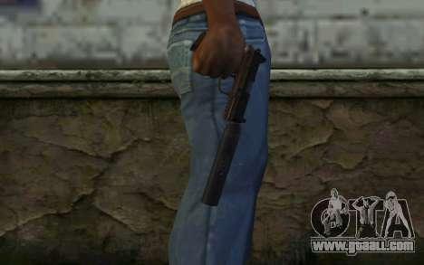 FN FNP-45 With Silencer for GTA San Andreas third screenshot