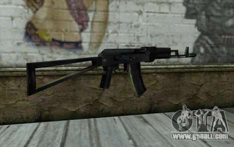 АКС-74 from Paranoia for GTA San Andreas second screenshot
