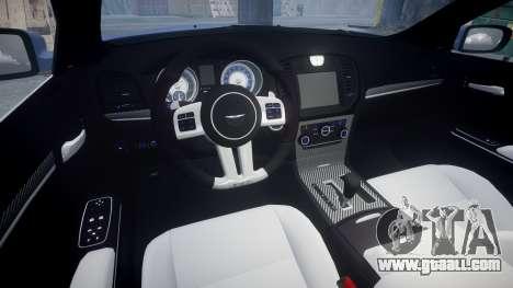 Chrysler 300 SRT8 2012 PJ SRT8 for GTA 4 inner view