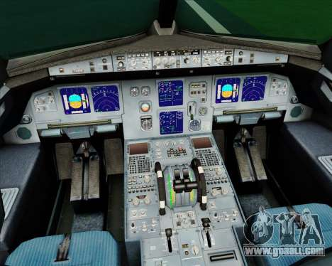 Airbus A321-200 CSA Czech Airlines for GTA San Andreas interior
