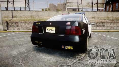 Declasse Merit LSPD [ELS] for GTA 4 back left view