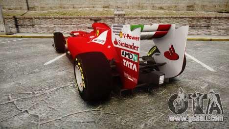 Ferrari 150 Italia Track Testing for GTA 4 back left view