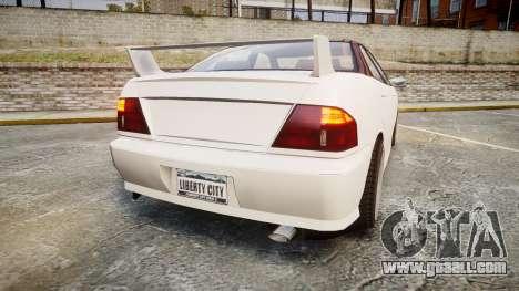 Dinka Chavos HSX for GTA 4 back left view