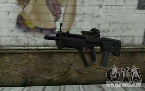 TAR-21 Bump Mapping v3 for GTA San Andreas