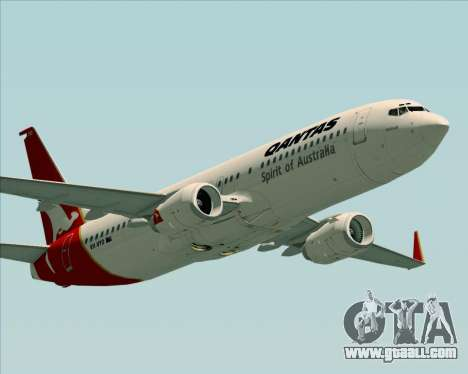 Boeing 737-838 Qantas (Old Colors) for GTA San Andreas engine