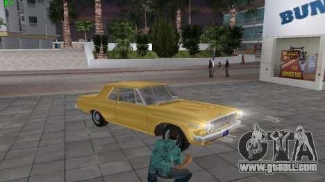 Dodge 330 Max Wedge Ramcharger 1963 for GTA Vice City right view