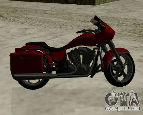 Bagger for GTA San Andreas right view