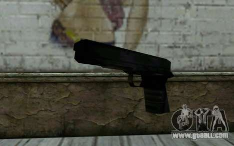 Pistol from Cutscene for GTA San Andreas