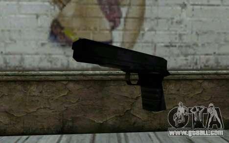 Pistol from Cutscene for GTA San Andreas